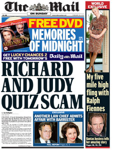 Richard and Judy Show Scandal