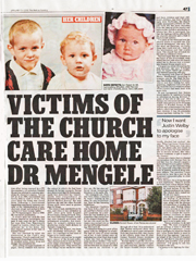 Church Care Home Abuse