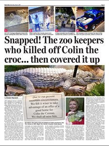 Zoo Covered Up Death Of Crocodile