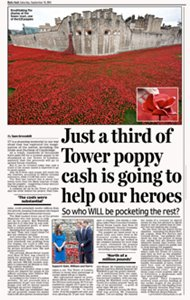 Tower Of London Poppies Investigation