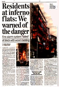 Tower Block Fire Whistleblower