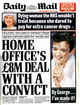 Home Office £8m deal with crook