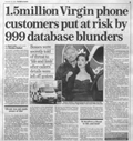 Virgin 999 Phone Story