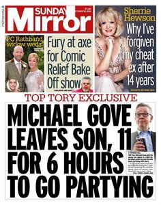 Gove Leaves 11-yr-old In Hotel